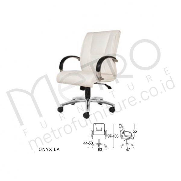 Kursi Kantor Onyx LA SL – Metro Furniture